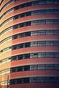 Fassade Bürogebäude Rotterdam, Niederlande