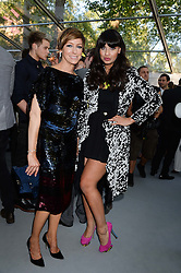 Left to right, JO ELVN and JAMEELA JAMIL at the Glamour Women of the Year Awards in association with Pandora held in Berkeley Square Gardens, London on 4th June 2013.