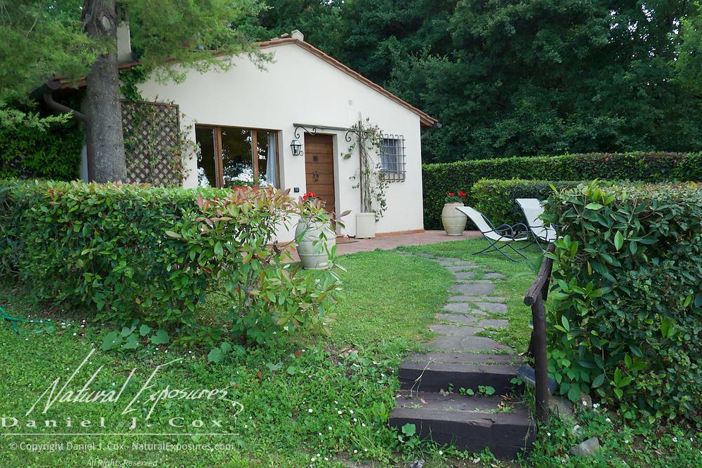 Our villa on the Relais San Bruno estate, Tuscany, Italy