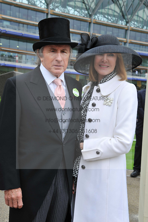 SIR JACKIE & LADY STEWART at day 2 of the 2011 Royal Ascot Racing festival at Ascot Racecourse, Ascot, Berkshire on 15th June 2011.