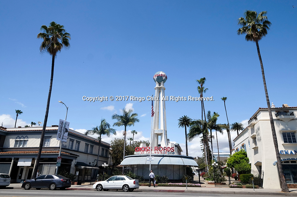 Crossroads of the World at 6671 Sunset Blvd, Los Angeles.(Photo by Ringo Chiu/PHOTOFORMULA.com)<br /> <br /> Usage Notes: This content is intended for editorial use only. For other uses, additional clearances may be required.