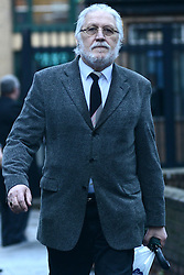 © Licensed to London News Pictures.16/01/2014. London, UK Former BBC Radio One DJ, Dave Lee Travis (David Patrick Griffin) arrives at Southwark Crown Court. Travis is appearing in court, after being arrested at his home by the Metropolitan Police as part of Operation Yewtree, due to alleged sexual assaults during the 1970's and 80's during his time at the BBC. Photo credit : Peter Kollanyi/LNP