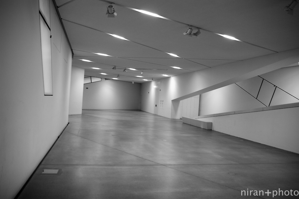 Interior Space of the Jewish Museum in Berlin
