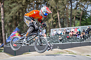 #149 (BUTTI Cedric) SUI during practice at Round 5 of the 2018 UCI BMX Superscross World Cup in Zolder, Belgium
