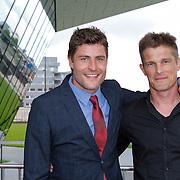 NLD/Amsterdam/20120625 - Inloop premiere Spiderman , Koert Jan de Bruijn en …..