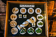 """Life cycle of silkworm. In Ogimachi, the peaceful Gassho-zukuri Minka-en Outdoor Museum displays farmhouses relocated from surrounding villages. Ogimachi is the largest village and main attraction of the Shirakawa-go region, in Ono District, Gifu Prefecture, Japan. Declared a UNESCO World Heritage Site in 1995, Ogimachi village hosts several dozen well preserved gassho-zukuri farmhouses, some more than 250 years old. Gassho-zukuri means """"constructed like hands in prayer"""", as the farmhouses' steep thatched roofs resemble the hands of Buddhist monks pressed together in prayer. Their thick roofs, made without nails, are designed withstand harsh, snowy winters and to protect a large attic space that was formerly used to cultivate silkworms. Many of the farmhouses are now restaurants, museums or minshuku lodging."""