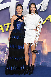Rosa Salazar and Jennifer Connolly attending the World Premiere of Alita: Battle Angel, held at the Odeon Leicester Square in London. Photo credit should read: Doug Peters/EMPICS