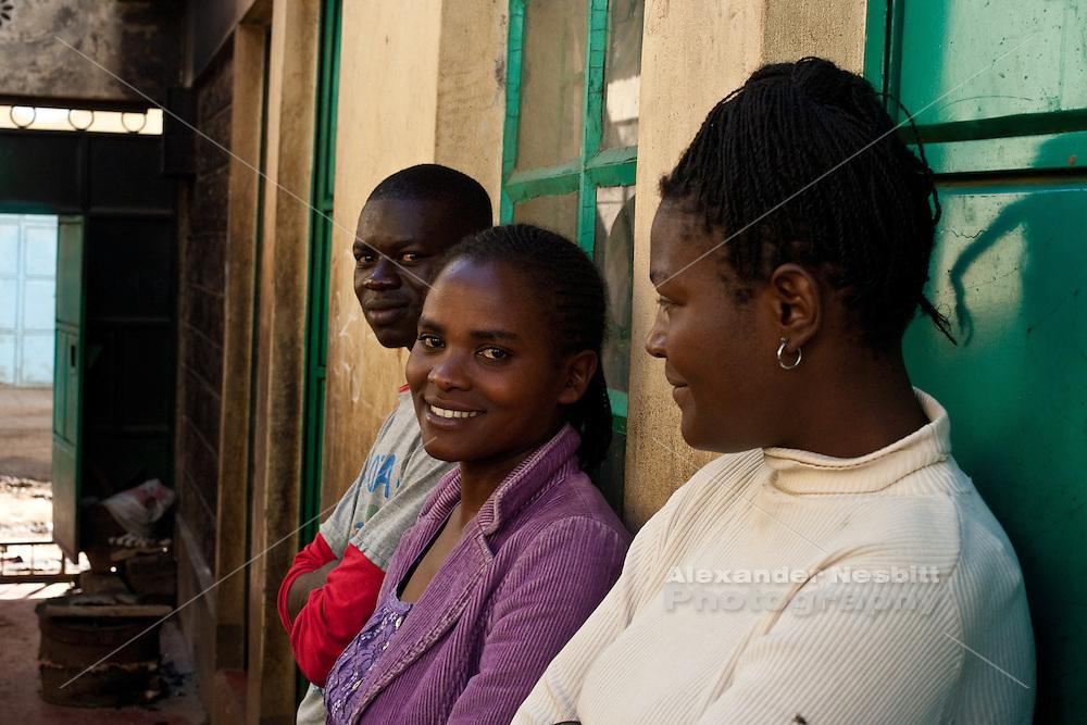 Nairobi, June 2010 - At the Watoto Wema children's home.
