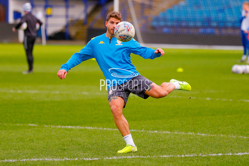 Leeds United defender Gaetano Berardi (28) warming up  during the U23 Professional Development League match between U23 Sheffield Wednesday and U23 Leeds United at Hillsborough, Sheffield, England on 3 February 2020.