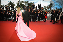 Chiara Ferragni and Federico Leonardo Lucia attend the screening of Sink Or Swim (Le Grand Bain) during the 71st annual Cannes Film Festival at Palais des Festivals on May 13, 2018 in Cannes, France. Photo by Shootpix/ABACAPRESS.COM