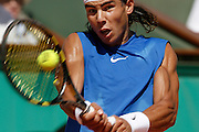 Roland Garros. Paris, France. June 9th 2006..Rafael Nadal against Ivan Ljubicic..1/2 Finals.