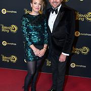 NLD/Amsterdam/20191009 - Uitreiking Gouden Televizier Ring Gala 2019, Klaas van der Eerden en partner Anna