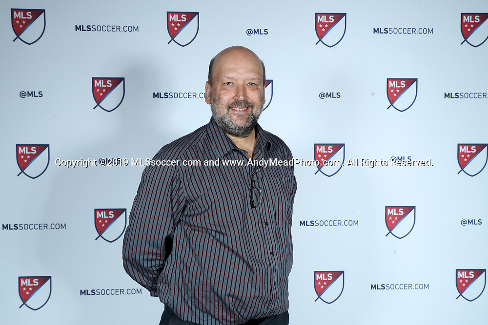 CHICAGO, IL - JANUARY 11: Andy Mead (MLS Communications). The MLS SuperDraft 2019 presented by adidas was held on January 11, 2019 at McCormick Place in Chicago, IL.