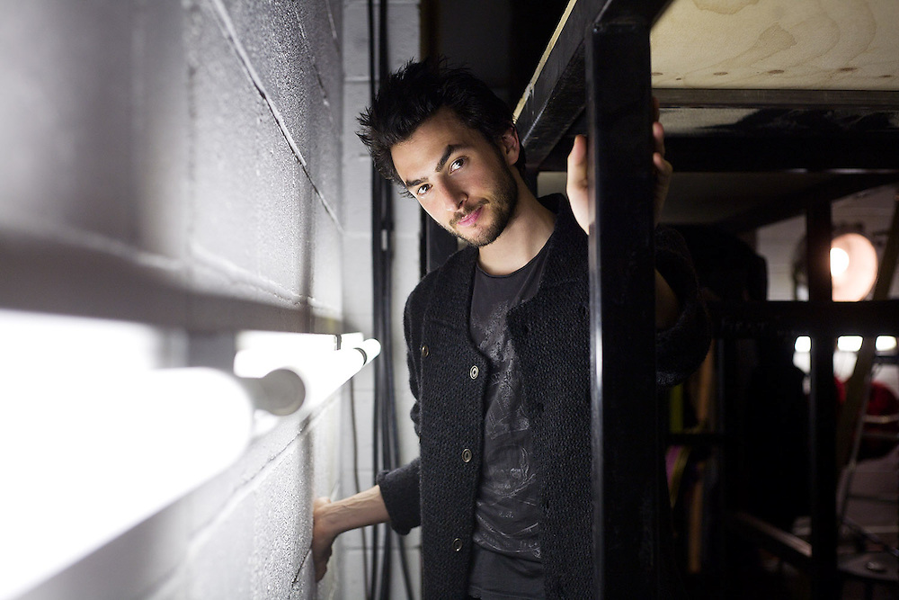 Austin McCormick, theatre and dance director. Photographed backstage