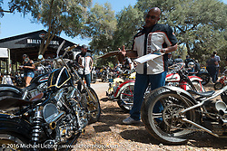 Daytona Bike Week 75th Anniversary event. FL, USA. Wednesday March 9, 2016.  Photography ©2016 Michael Lichter.