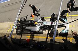 May 13, 2017 - Barcelona, Spain - Motorsports: FIA Formula One World Championship 2017, Grand Prix of Spain, ..#44 Lewis Hamilton (GBR, Mercedes AMG Petronas F1 Team) (Credit Image: © Hoch Zwei via ZUMA Wire)