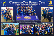 Cockburn City U16 Cup Winners 2018