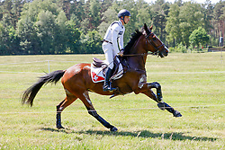 LUHMÜHLEN - Longines CCI5*-L/CCI4*-S Meßmer Trophy<br /> Deutsche Meisterschaften 2021<br /> <br /> GEDEL Robin (SUI), Jet Set<br /> Teilprüfung Gelände<br /> CCI4*-S Meßmer Trophy<br /> Cross-Country<br /> <br /> Luhmühlen, Turniergelände<br /> 19. June 2021<br /> © www.sportfotos-lafrentz.de/Stefan Lafrentz