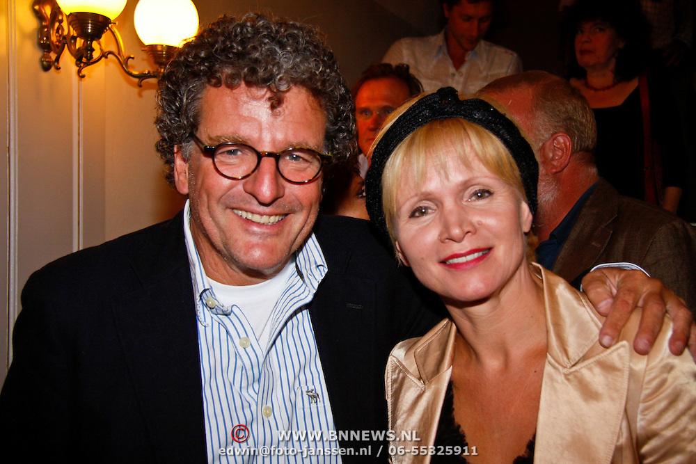 NLD/Amsterdam/20100901 - ACT gala 2010, Edwin de Vries en Renee Soutendijk