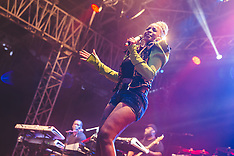 Mary J. Blige performing at Kew The Music Festival 17 July 2017