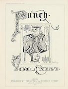 PUNCH magazine Title Page cartoon