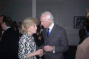Sir Brinsley and Lady Moorea Black. Annabel Freyberg and Andrew Barrow drinks party. The Royal Geographical Society. 5 January 2006. ONE TIME USE ONLY - DO NOT ARCHIVE  © Copyright Photograph by Dafydd Jones 66 Stockwell Park Rd. London SW9 0DA Tel 020 7733 0108 www.dafjones.com