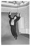 Nicholas Coleridge at the Park Lane Hotel. London. 1983 approx. © Copyright Photograph by Dafydd Jones 66 Stockwell Park Rd. London SW9 0DA Tel 020 7733 0108 www.dafjones.com
