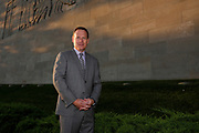Corporate and small business portrait and marketing photographer in Kansas City- Eric Hansen profile shoot, 2017 Chairman of the Board, Association of International Certified Professional Accountants. Photo by Colin E.Braley