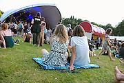 Nederland, Nijmegen, 8-6-2014MusicMeeting. Fesivalterrein in park Brakkenstein. Het mooie weer zorgde voor veel bezoekers en een goede sfeer.Foto: Flip Franssen/Hollandse Hoogte