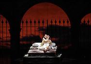 2/13/08 Boston Ballet Dress Rehearsal of Romeo and Juliet. Larissa Ponomarenko (Juliet) and Nelson Madrigal (Romeo)...www.michaelseamans.com