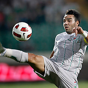 Bursaspor's Volkan SEN during their UEFA Europa League Third qualifying round, First leg soccer match Bursaspor between Gomel at the Ataturk stadium in Bursa Turkey on Thursday 28 July 2011. Photo by TURKPIX