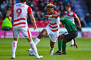 Mallik Wilks of Doncaster Rovers (7) in action during the EFL Sky Bet League 1 match between Doncaster Rovers and Coventry City at the Keepmoat Stadium, Doncaster, England on 4 May 2019.