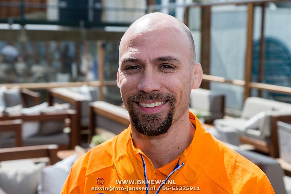 NLD/Scheveningen/20160713 - Perspresentatie judoka's voor de Olympische Spelen 2016 in Rio de Janeiro, Mark van der Ham