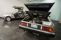1981 DeLorean (left) & 1983 DeLorean