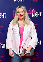Roisin Conaty attending the Late Night event in association with The Guilty Feminist at Picturehouse Central, London.