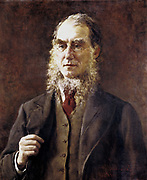 Joseph Dalton Hooker (1817-1911) English botanist, plant geographer and collector, born in Halesworth, Suffolk.  Succeeded his father as Director of Royal Botanic Gardens, Kew, in 1865-1885. Surgeon-botanist on British Antarctic expedition of 'HMS Discovery' and 'HMS Erebus' 1839-1843.