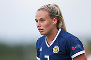 Kirsty Smith (#2) of Scotland during the FIFA Women's World Cup UEFA Qualifier match between Scotland Women and Belarus Women at Falkirk Stadium, Falkirk, Scotland on 7 June 2018. Picture by Craig Doyle.