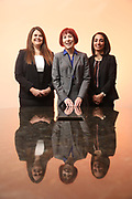 SHOT 12/4/19 11:35:35 AM - McGuane & Hogan, P.C., a Colorado family law firm located in Denver, Co. Includes attorneys Kathleen Ann Hogan, Halleh T. Omidi and Katie P. Ahles. (Photo by Marc Piscotty / © 2019)