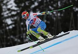 16/12/2011, Val Gardena, Italy. SPORN Andrej (SLO) in action during the Alpine Ski World Cup -  Saslong - men Super-G .© Pierre Teyssot / Sportida.com