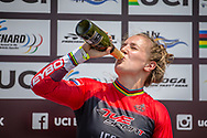 #110 (SMULDERS Laura) NED  wins Round 10 of the 2019 UCI BMX Supercross World Cup in Santiago del Estero, Argentina