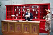Werkbezoek van  Koning Willem Alexander en  Koningin Maxima aan de Duitse deelstaten<br /> Mecklenburg-Voor-Pommeren en Brandenburg.<br /> <br /> Working visit by King Willem Alexander and Queen Maxima to the German states of Mecklenburg-Western Pomerania and Brandenburg.<br /> <br /> Op de foto / On the photo: Bijeenkomst Creatieve Industrie in Studio Babelsberg Medienstadt, Babelsberg-Potsdam /// Creative Industry Meeting at Studio Babelsberg Medienstadt, Babelsberg-Potsdam