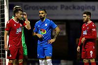 Jordan Williams. Stockport County FC 2-0 Wrexham FC. Vanarama National League. 28.12.20