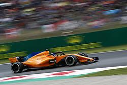 May 13, 2018 - Barcelona, Catalonia, Spain - May 13th, 2018 - Circuit de Barcelona-Catalunya, Montmelo, Spain - Race of Formula One Spanish GP 2018; Fernando Alonso of Team McLaren during the Spanish GP. (Credit Image: © Eric Alonso via ZUMA Wire)