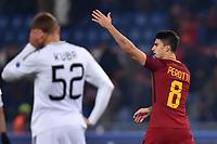 Esultanza gol Diego Perotti Roma Goal celebration  <br /> Roma 05-12-2017 Stadio Olimpico Uefa Champions League A 2017/2018 Group C AS Roma - Qarabag Foto Andrea Staccioli / Insidefoto