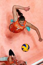 28-05-2019 NED: Volleyball Nations League Netherlands - Brazil, Apeldoorn<br /> <br /> /