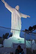 Cristo Blanco, white Crist Cusco, Urubamba Province, Peru