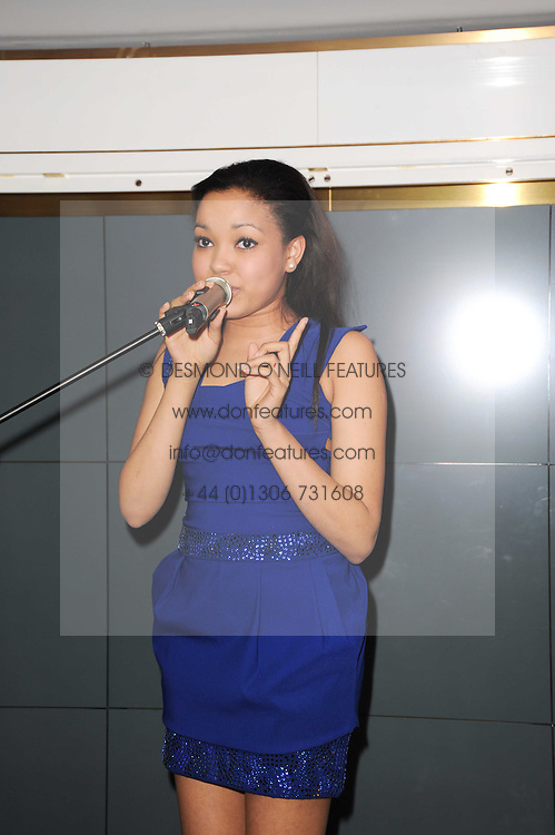 DIONNE BROMFIELD at a party to promote Marie Claire magazine Inspire & Mentor Campaign held at The Loft, The Ivy Club, West Street, London on 30th March 2010.