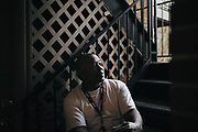 BIRMINGHAM, AL – DECEMBER 4, 2017: John Hardy, 50, was convicted of possession of a forged instrument and third degree burglary and spent a total of four months in the Jefferson County Jail. He assumed he was ineligible to vote due to his felony convictions. CREDIT: Bob Miller for The New York Times