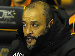 Wolverhampton Wanderers manager Nuno looks on -Mandatory by-line: Nizaam Jones/JMP - 02/01/2018 - FOOTBALL - Molineux - Wolverhampton, England- Wolverhampton Wanderers v Brentford -Sky Bet Championship