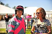 April 7, 2012 - Gus Dahl and KAren Gray at Stoneybrook Steeplechase, Raeford NC